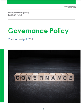Governance Policy April 2015